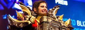 Blizzard Dance & Cosplay Contest at Gamescom 2018