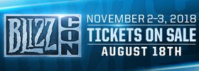 BlizzCon 2018: Third Ticket Sale Added