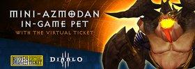 Diablo 3 BlizzCon 2018 Reward: Mini-Azmodan