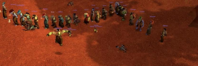 WoW Classic Stress Test: Players Form Lines to Complete Quests
