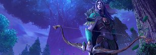 Recreating the Night Elves in Warcraft III Reforged