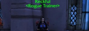 Blizzard Adds Reckful as Rogue Trainer to the Stormwind Cathedral in Shadowlands
