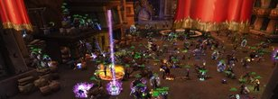 Horde Contolled Ironforge on Gandling (EU) + Biggest Mosh Pit in WoW Classic