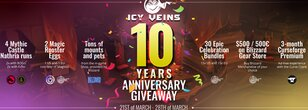 Icy Veins 10-Year Anniversary Giveaway!