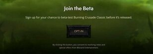 Burning Crusade Classic Beta Testing Availability and Fixes: March 31st
