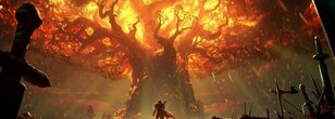 Teldrassil Animated Wallpaper Engine and Fan Art (Both During and Pre-Burning)
