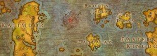 Minimalistic Map of Azeroth