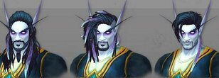 Awesome Fan Made Male and Female Void Elf Hairstyles