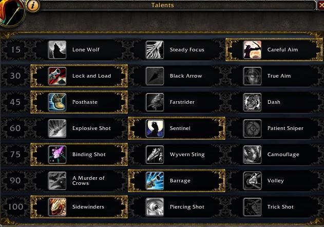 bm hunter talents 7.3