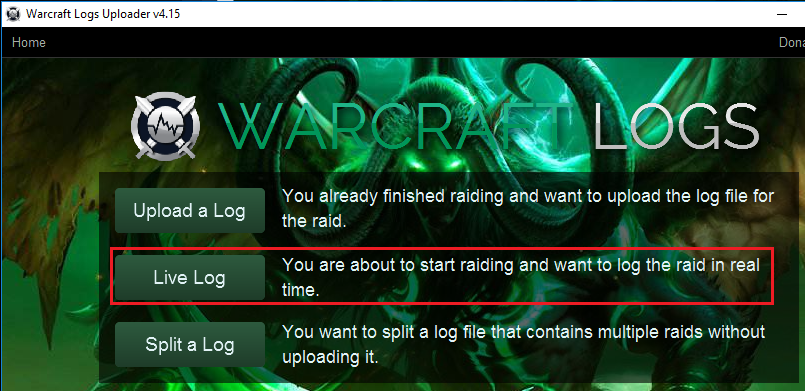 How to use Warcraft Logs [Part 1]: uploading and searching - General