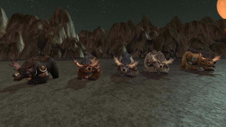 Highmountain Tauren Druid Forms In Battle For Azeroth News Icy