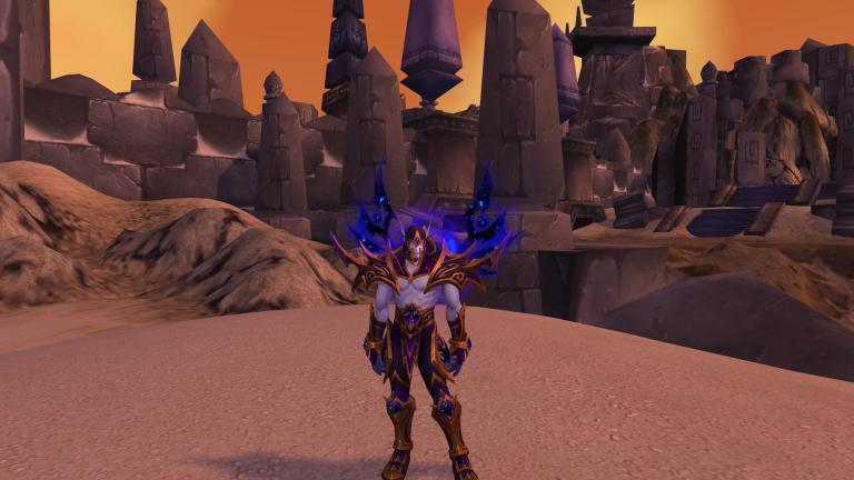 Allied Races Heritage Armor In Battle For Azeroth News Icy Veins Lets get the void elf heritage armor and take a look at it on my warlock. allied races heritage armor in battle