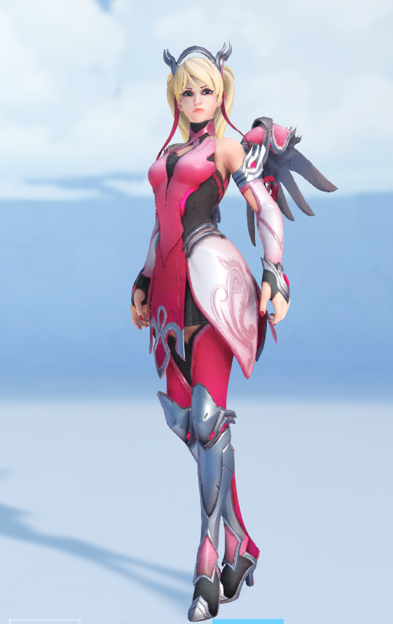 """New """"Pink"""" Mercy Skin Looks Amazing, Supports Breast ... Aleco"""