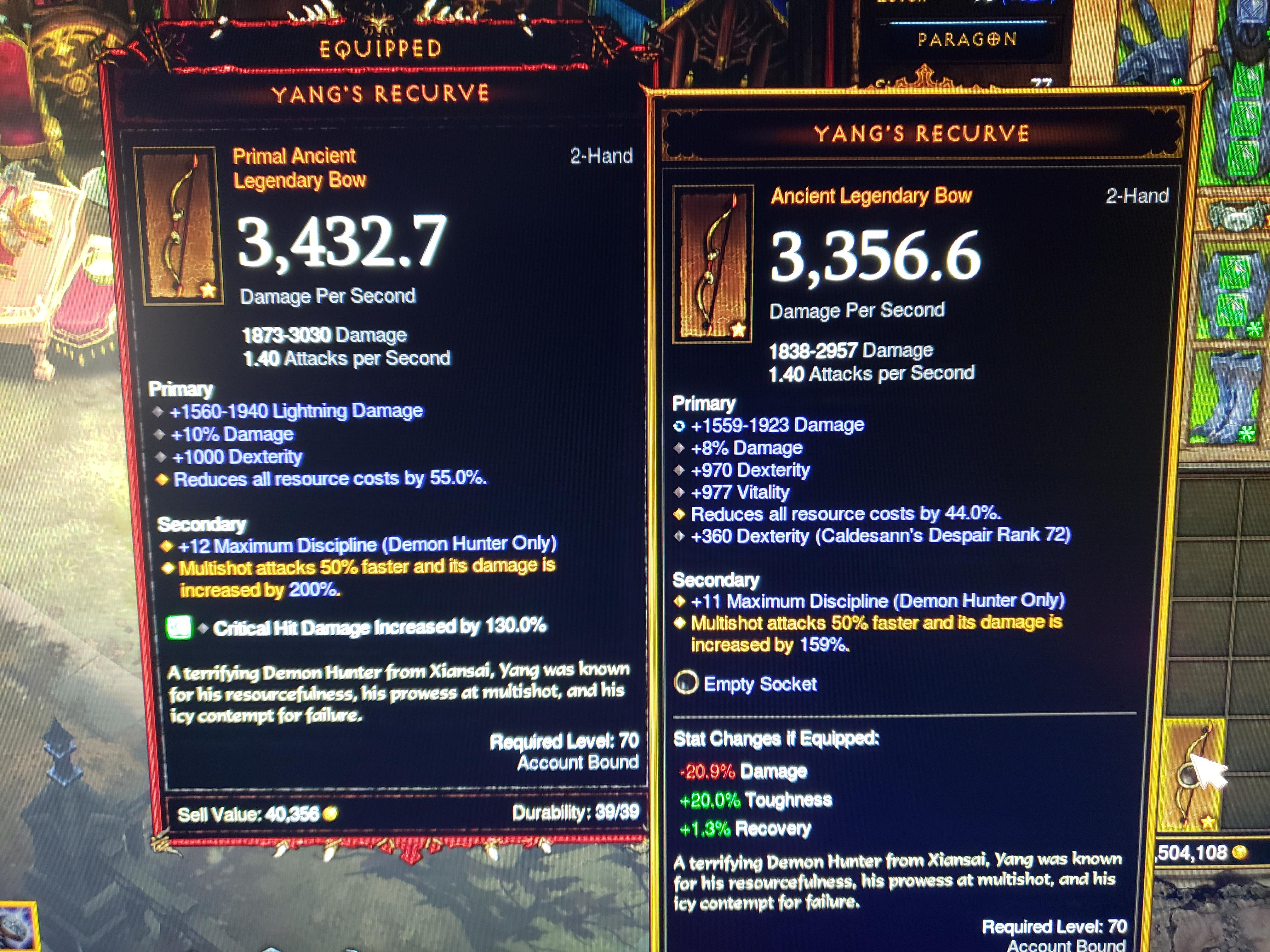 Demon Hunter Still Only One Viable Build