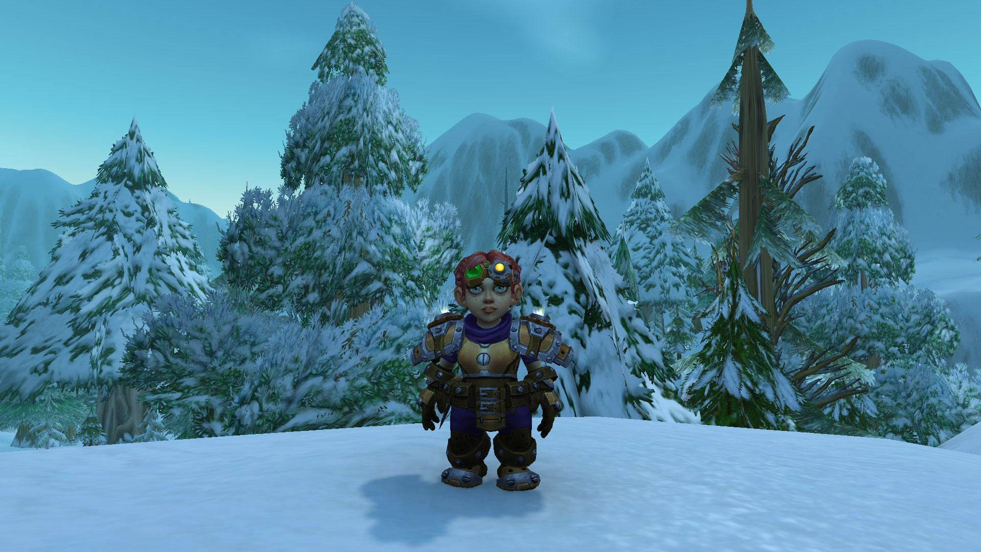 Female Gnome: Patch 8.2: Gnome Heritage Armor
