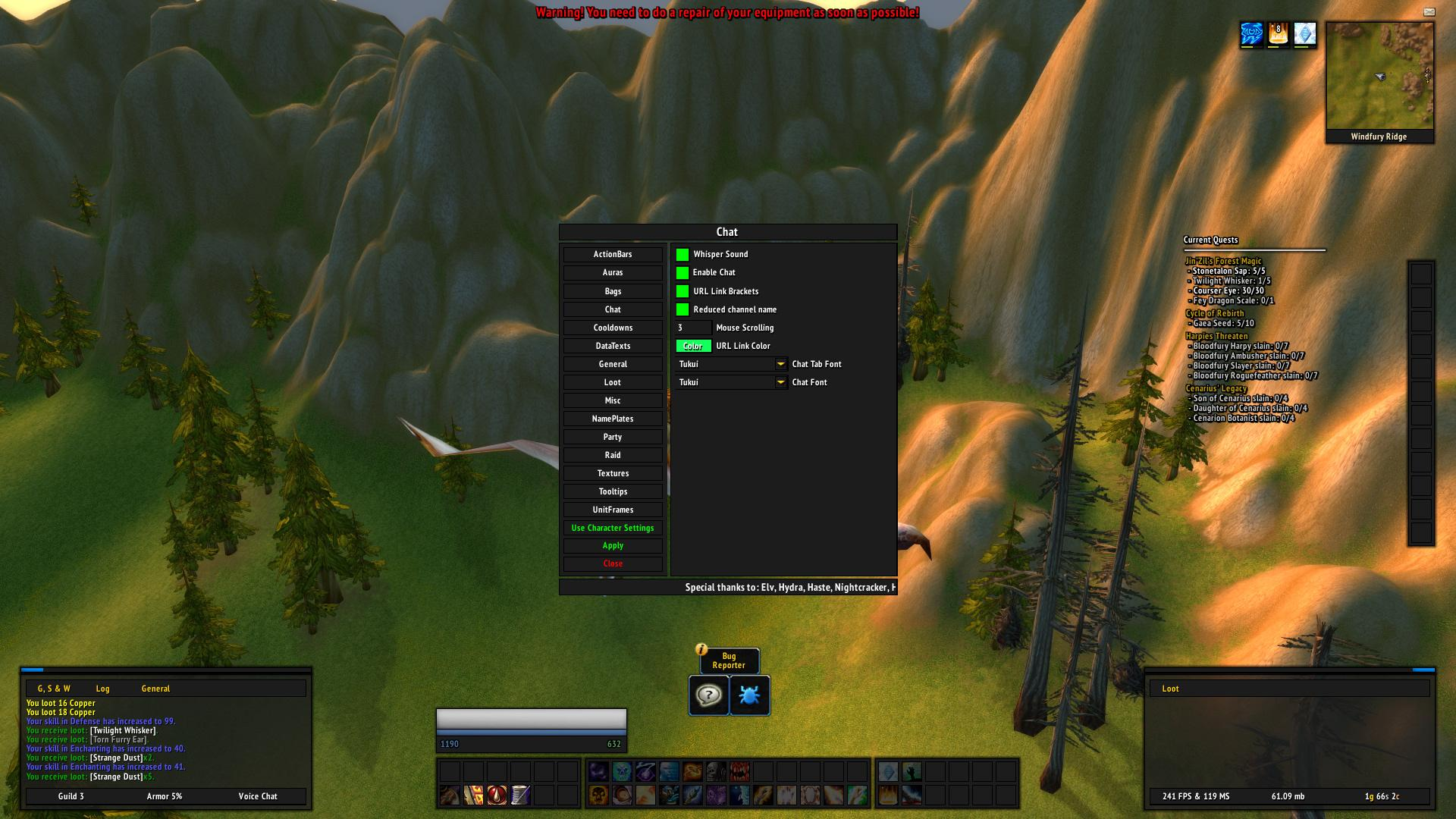 WoW Classic Addons: TukUI - News - Icy Veins Forums