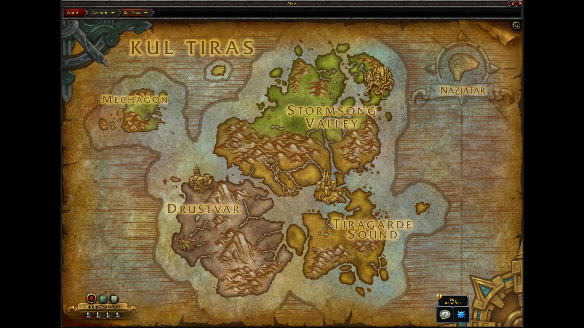 How to Get and Return to Mechagon & Nazjatar in Patch 8 2