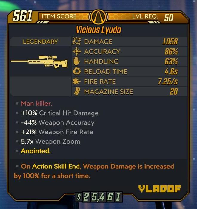 borderlands 3 elemental damage