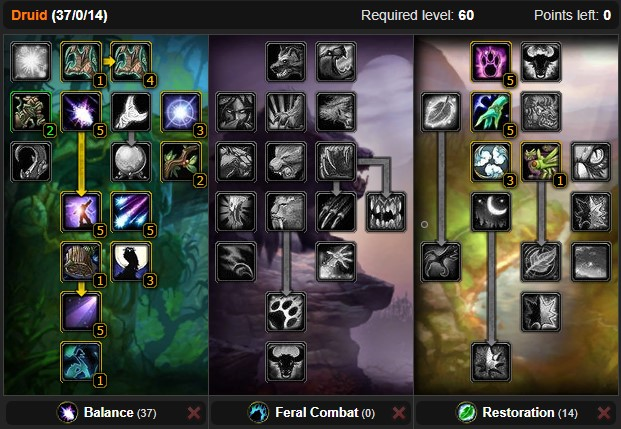 Classic Balance Druid Ranged Dps Spec Builds And Talents Wow Classic Icy Veins