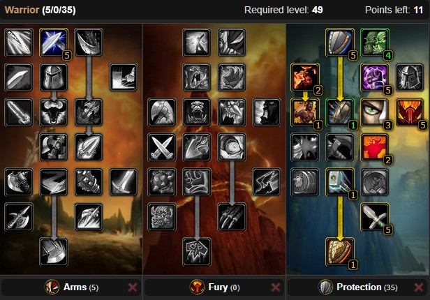 Wow classic fury warrior leveling guide