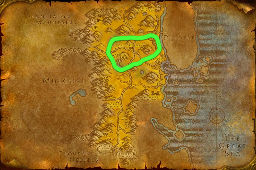 Leveling Skinning as Horde: The Barrens 50-100