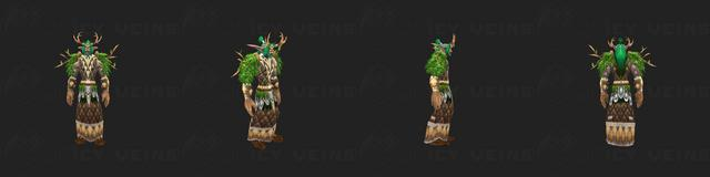 Druid's Tier 1 Set: Cenarion Raiment