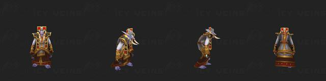 Priest's Tier 1 Set: Vestments of Prophecy