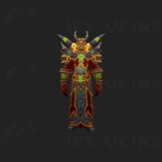 Warlock Tier 1 Set: Felheart Raiment