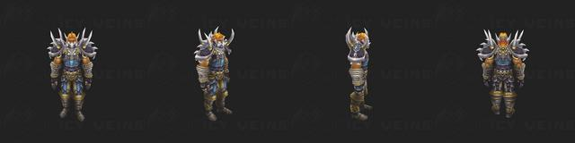 Warrior's Tier 1 Set: Battlegear of Might