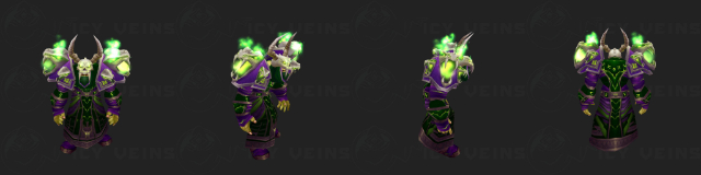 Warlock's Tier 2 Set: Nemesis Raiment