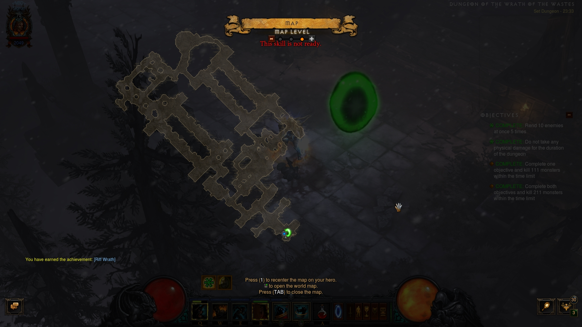 Barbarian Wrath of the Wastes Set Dungeon Guide - Diablo 3