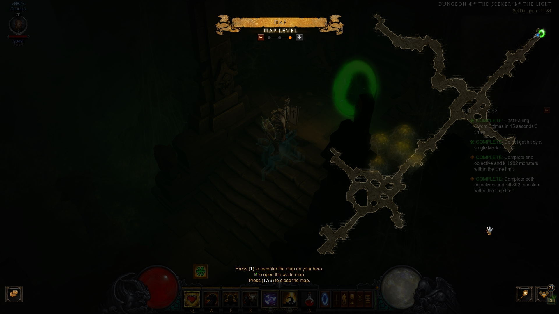 Location of SotL set dungeon