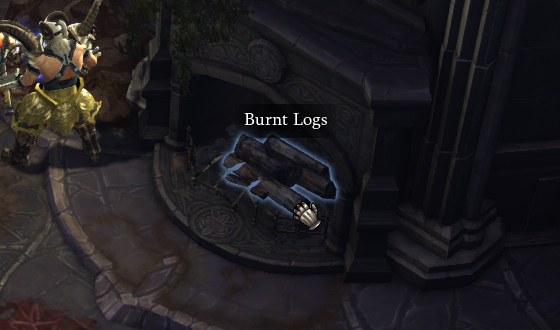 Burnt Logs