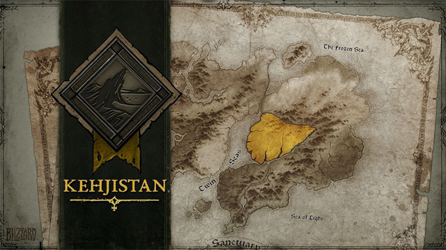 Kehjistan Map Image