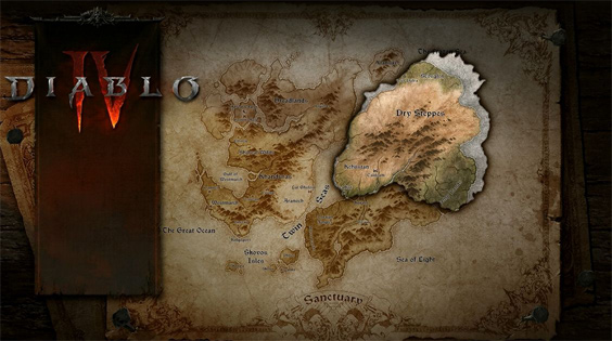 Diablo 4 Zone Map Image