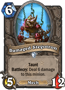 Damaged Stegotron - Boomsday Expansion