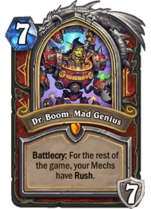 Dr. Boom, Mad Genius - Boomsday Expansion