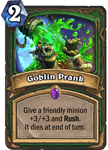 Goblin Prank - Boomsday Expansion