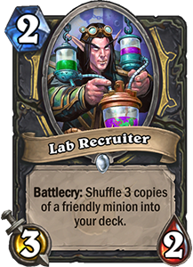 Lab Recruiter - Boomsday Expansion
