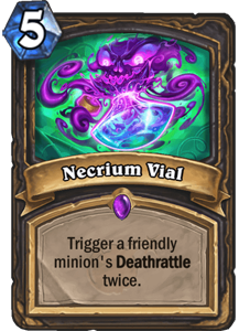 Necrium Vial - Boomsday Expansion