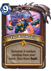 The Boomship - Boomsday Expansion