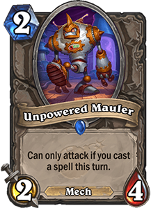 Unpowered Mauler - Boomsday Expansion