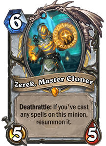 Zerek, Master Cloner Gallery - Boomsday Expansion