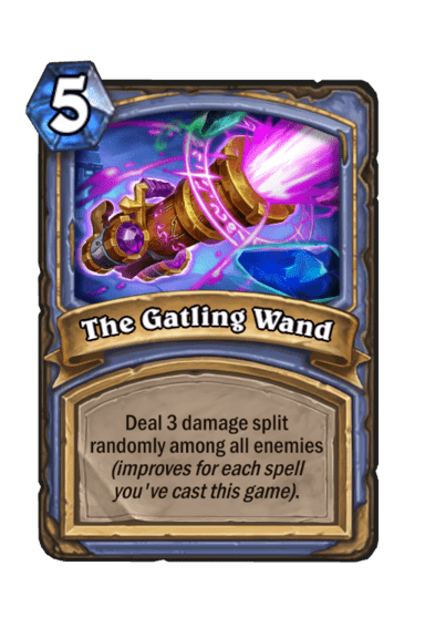 The Gatling Wand