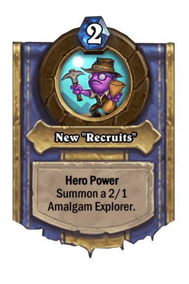 "New ""Recruits"""
