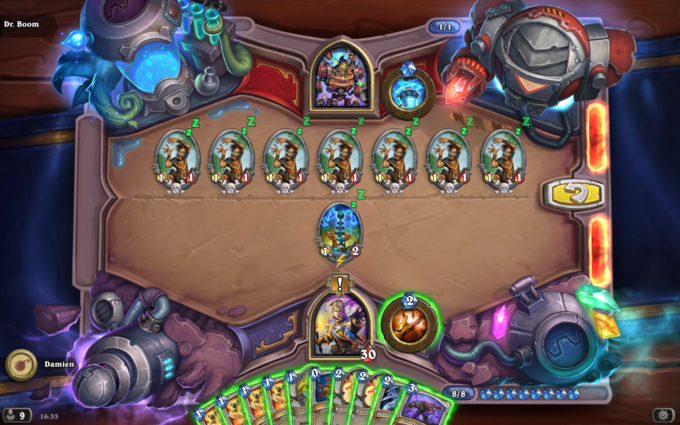 Dr. Boom Board Clear Puzzle #1