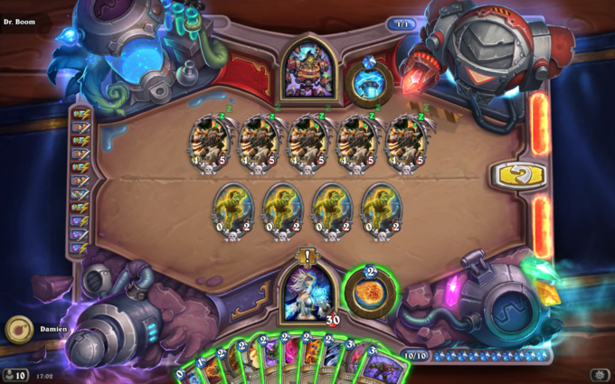 Dr. Boom Board Clear Puzzle #3