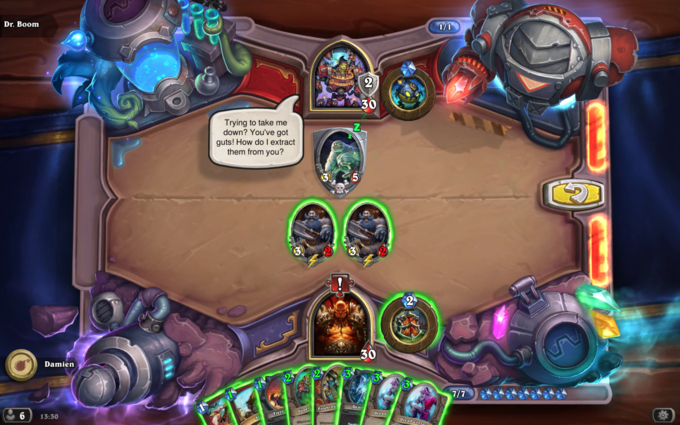 Dr. Boom Lethal Puzzle #1