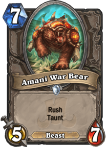 Amani War Bear - Rastakhan's Rumble