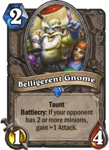 Belligerent Gnome - Rastakhan's Rumble